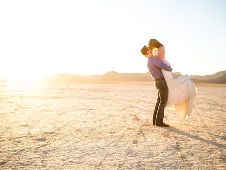 Dana + Brandon | Las Vegas Engagement Photos (AY)