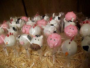 barnyard themed birthday party Oct 2011.