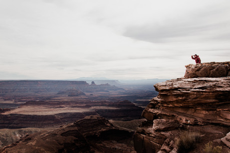 Canyonlands lookout photography