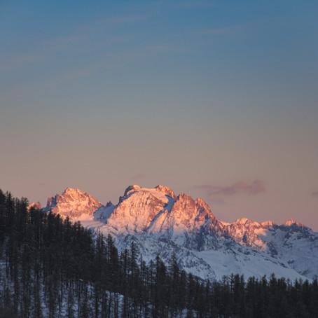Risoul - Snowboarding between mountaintops