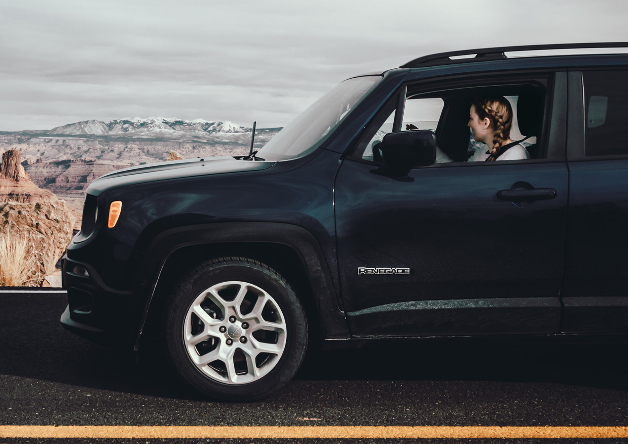 Jeep renegade photography