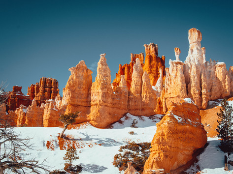 Bryce Canyon winter photography Timothy De Ridder
