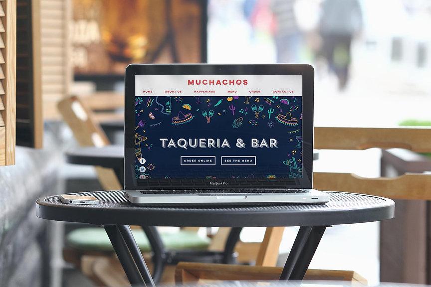 Website design ad social media guidance for mexican restaurant