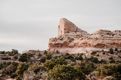 Canyonlands photography of iconic hill
