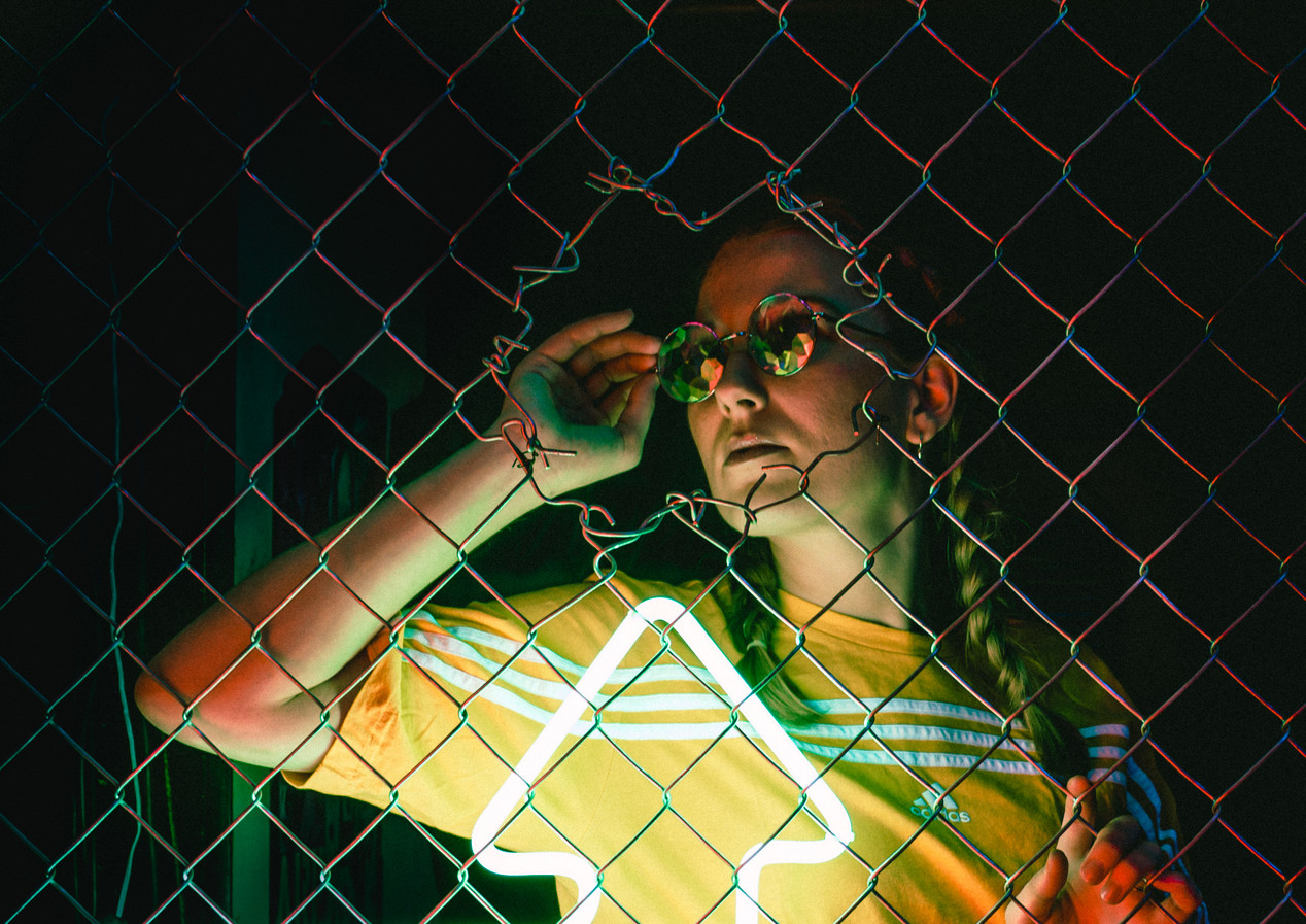 Neon photoshoot - Timothy De Ridder photography