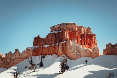Visit Bryce Canyon during winter