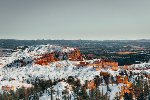 Bryce Canyon winter landscape photography