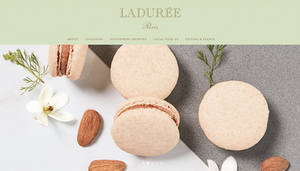 Confectionery and pastry website design