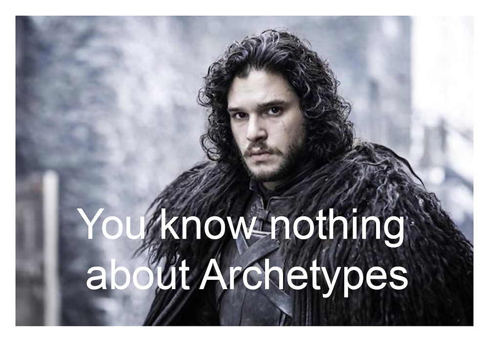 Archetypes for marketing campaigns. Personas and motives.