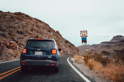 Driving on route 66 ideas and tips USA roadtrip