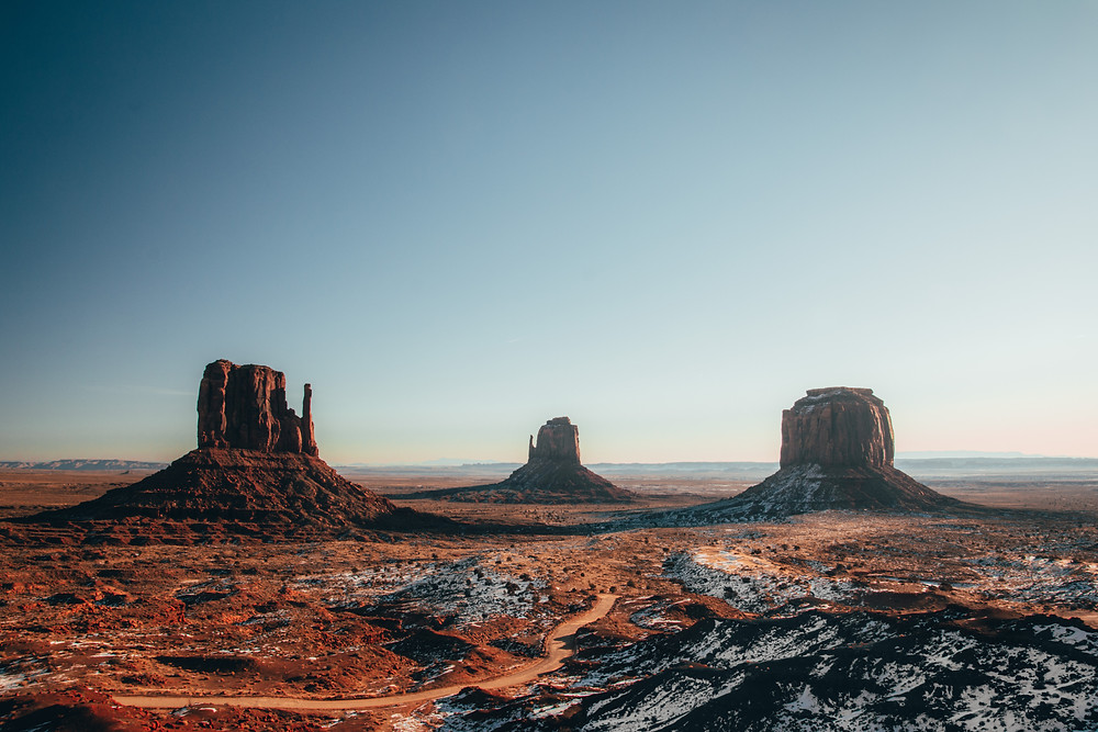 Monument valley icon movie landscape photo