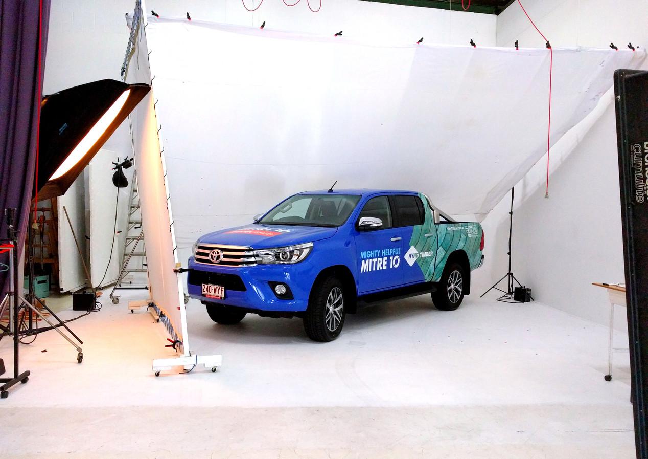 Behind the Scenes automotive photo shoot Mitre-1