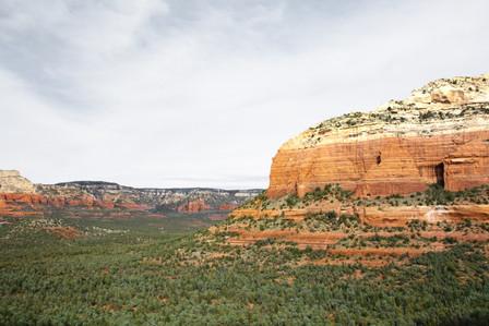 Sedona Arizona view from Devil's bridge Arch
