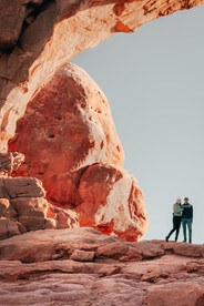 self portrait tips in arches national park