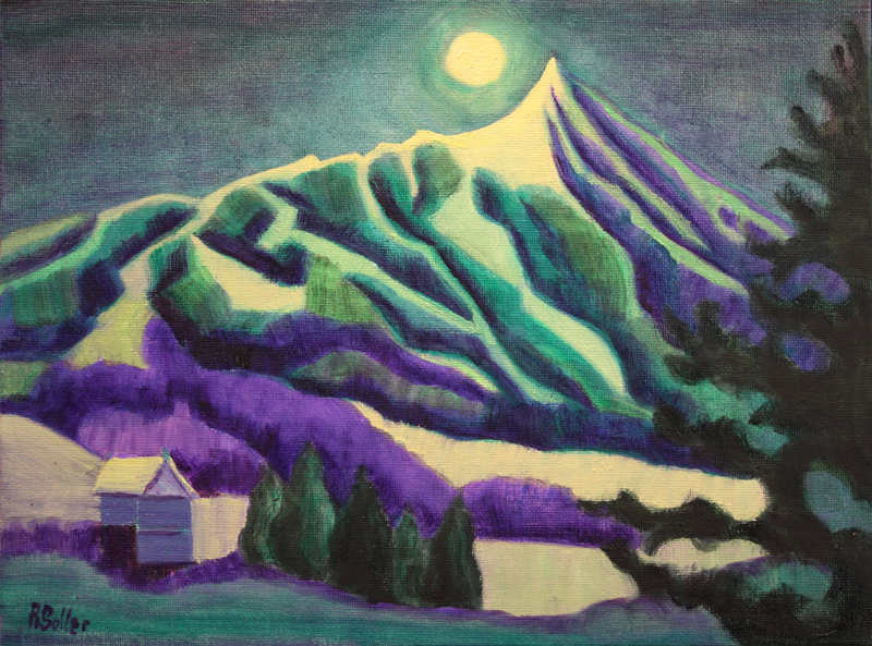 Soller_MoonOverCrestedButte_oil_9x12_$50