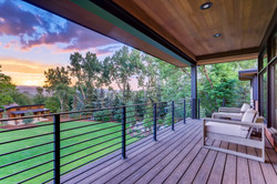 Deck off Master Suite to take in mountain views.
