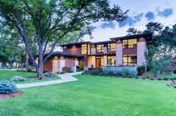 Modern Prairie exterior, custom home