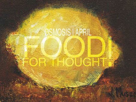 FOOD FOR THOUGHT!  |  April 2016