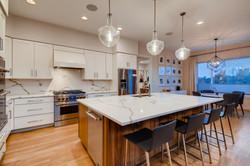 Kitchen and Nook beyond