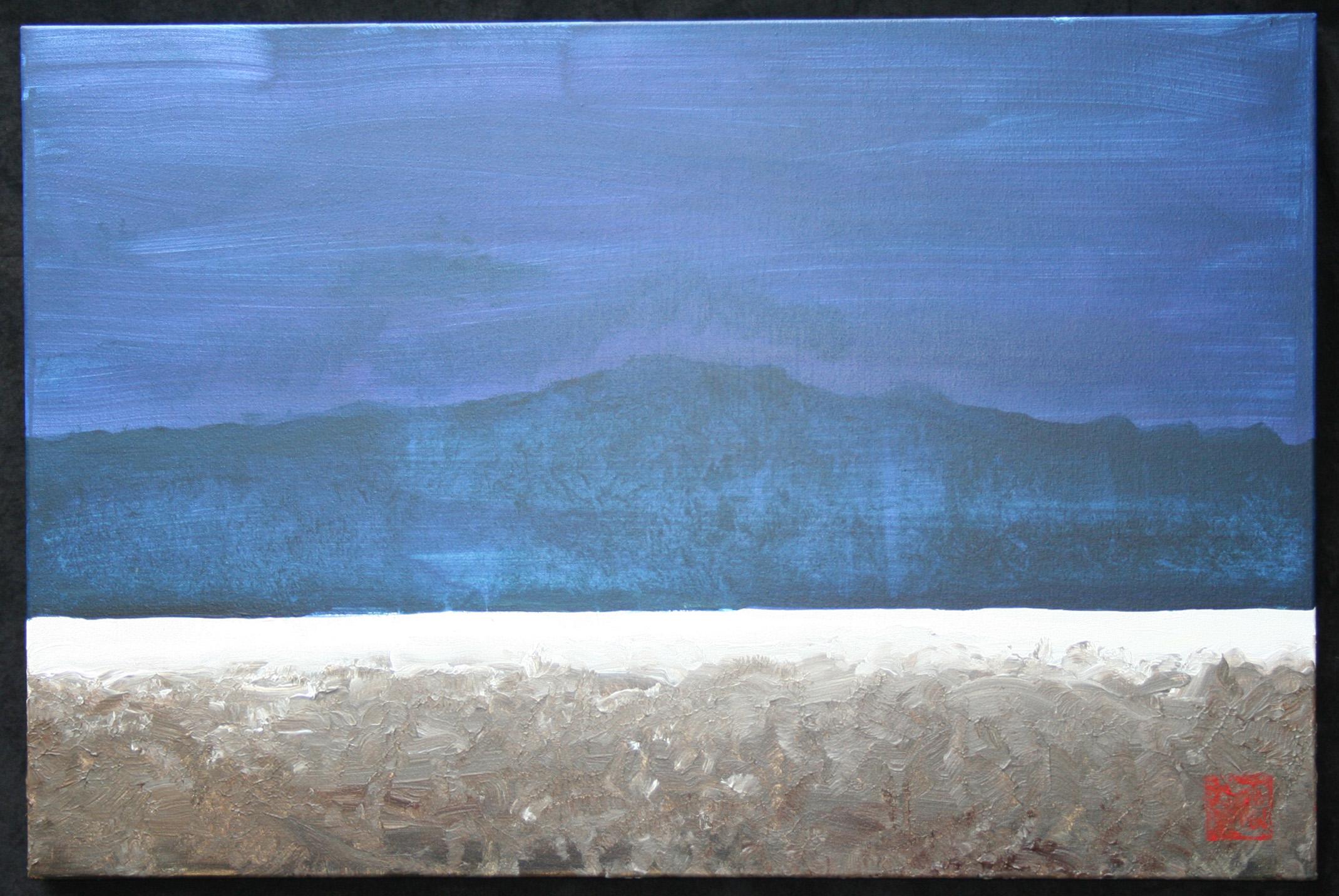 White Line #5 - Cobalt Horizon.jpg