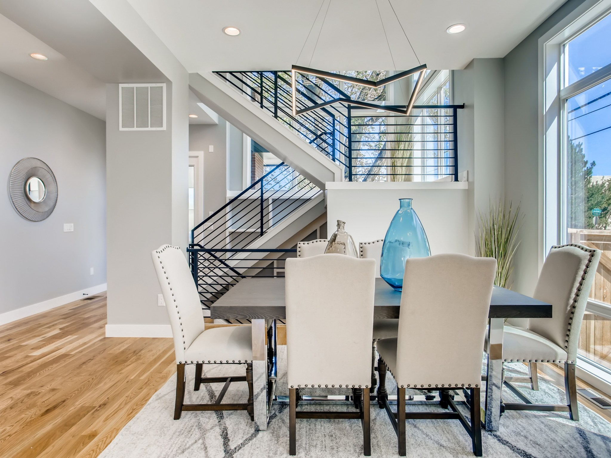 Dining Room with Stairs beyond.