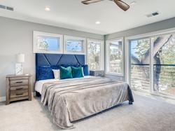 Vaulted Master Bedroom