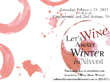 Let's Wine About Winter - Niwot