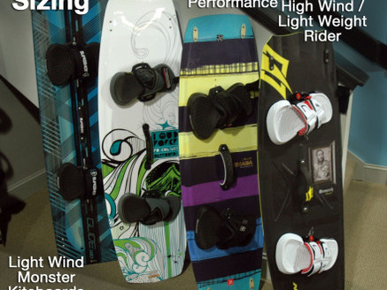 What is the best size kiteboard to ride as a beginner?