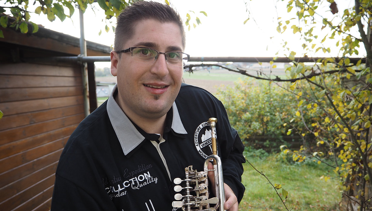 Simon Schäfer, Trompete, Duo Festivo, Trompetenworkshops, Musik, Trompeter, piano, Michael Kuhn, Konzert, Mannheimer Philharmoniker, Duo, Solotrompeter