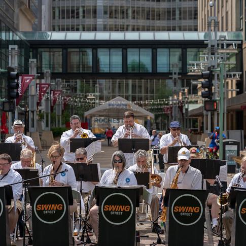 Swing Street Performace
