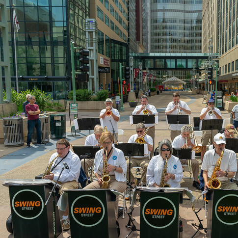 Swing Street Performance