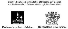 Brisbane City Council Creative Sparks Logo