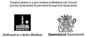 Brisbane City Council Creative Sparks Logo