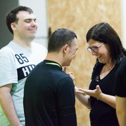 Catarina - Co Artistic Director & Workshop Participant @ Actors Gym at MND & Me