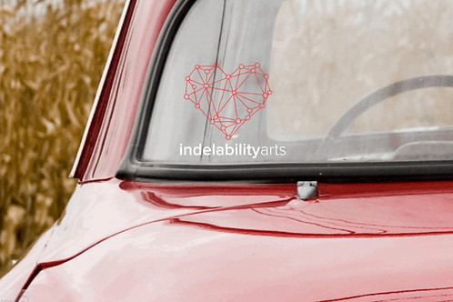 indelabilityarts decal car sticker