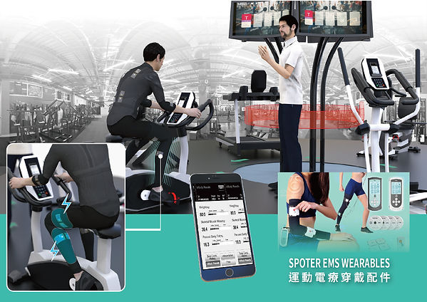Circuit Aerobic Exercise Training System