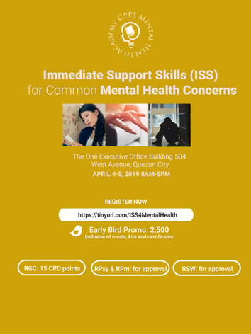Immediate Support Skills for Common Mental Health Concerns