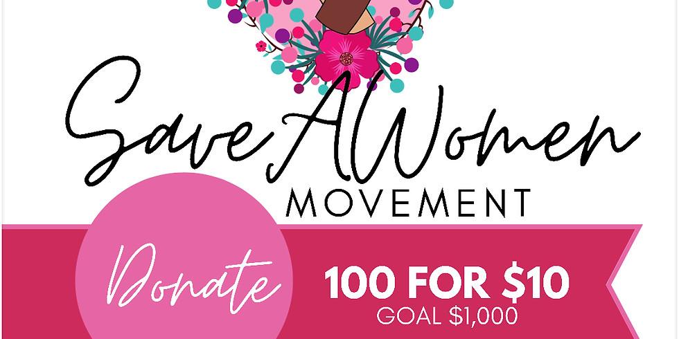 Save A Women Fundraiser