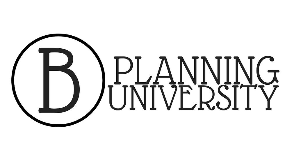 B Planning University Online Course Business & Branding/Social Media Power