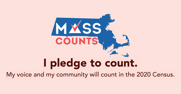 Click on the link to pledge online that you will be counted! We will send you a reminder when the Census begins.