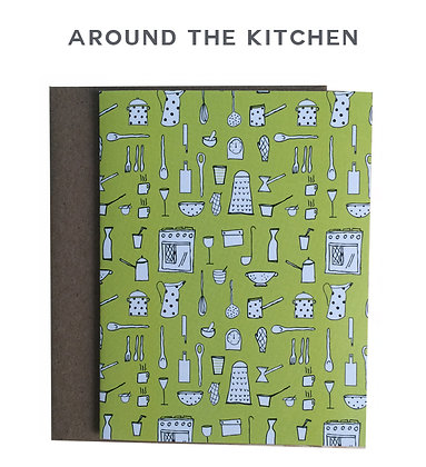 around the kitchen - single card