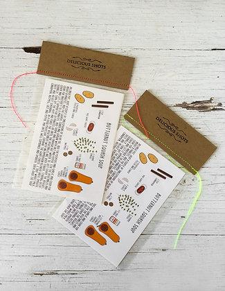recipe postcards