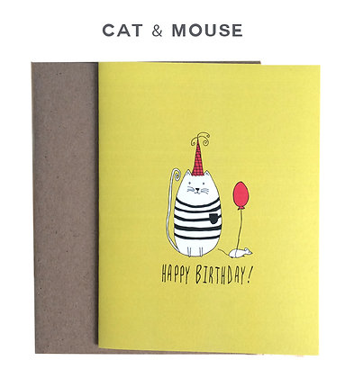 cat and mouse - single card