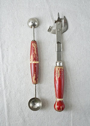 melon ballers and can opener