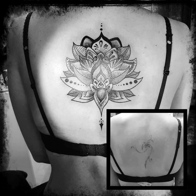 COVER - DOTWORK - BLACKWORK