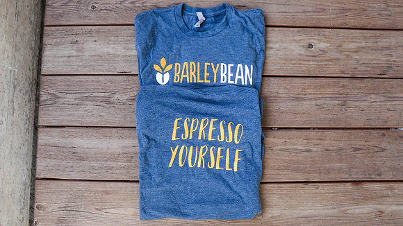 Blue Espresso Yourself Tee