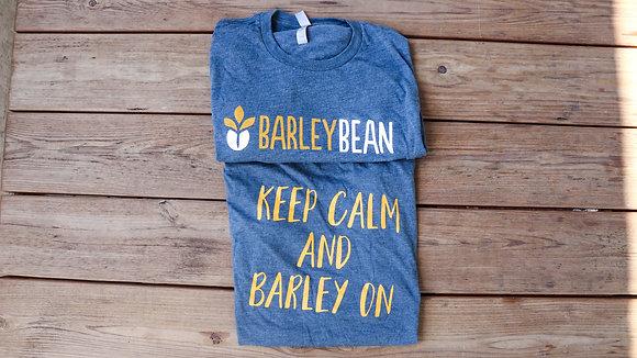 Blue Keep Calm Barley On