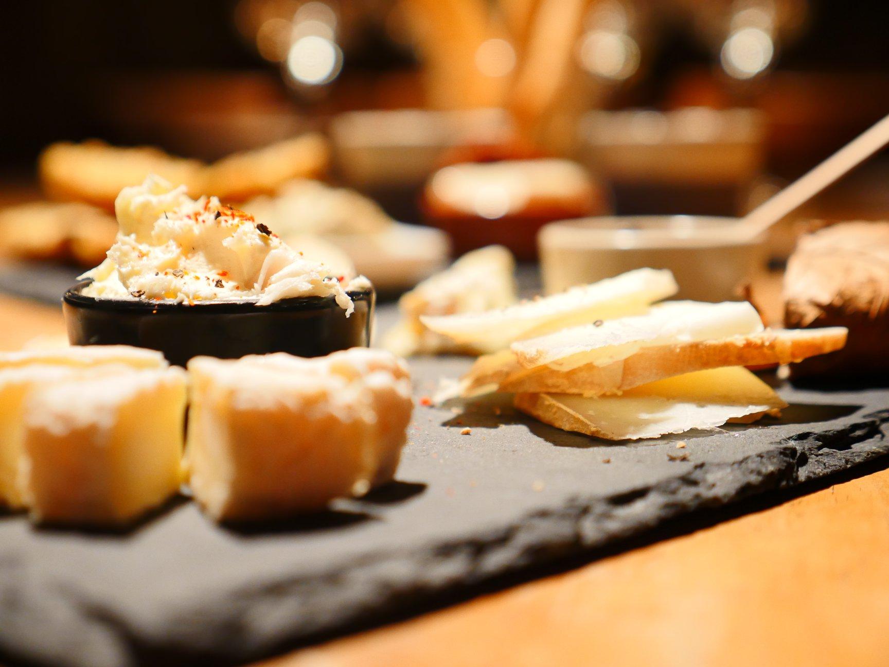 La planche de fromages