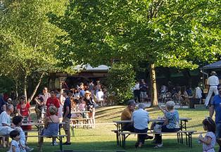 Buvette et parc