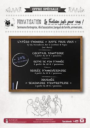 La Fontaine Juste Pour Vous_Privatisatio